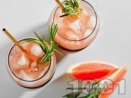 Рецепта Коктейл от водка с грейпфрут